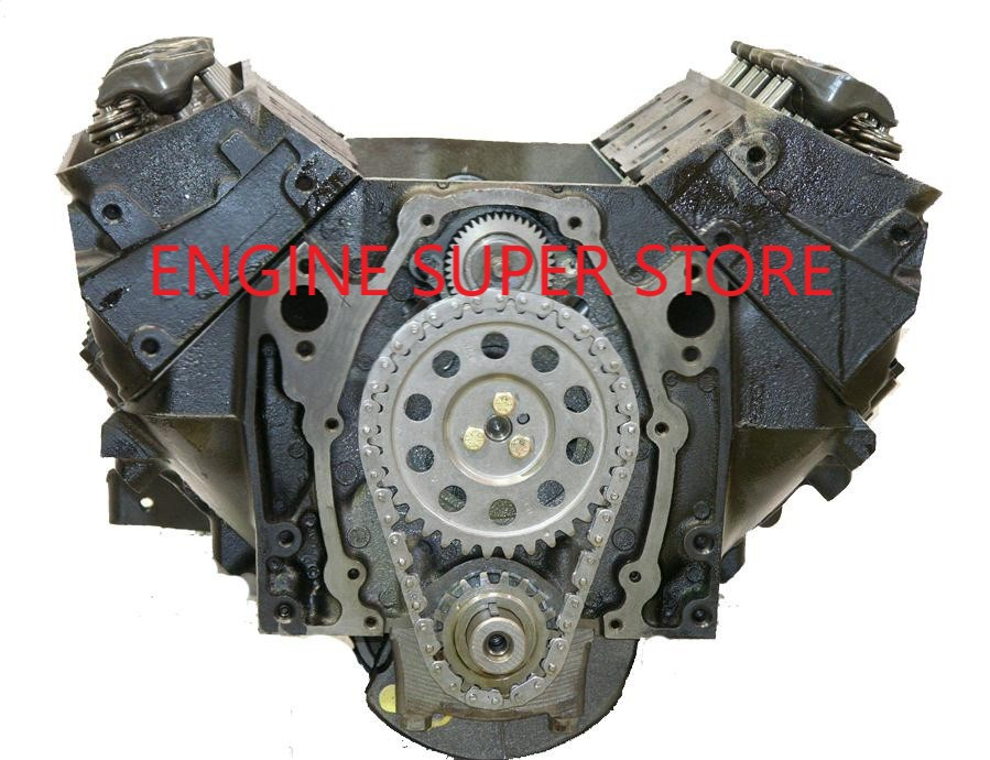 Remanufactured 90-99 Chevy 262 GM 4 3 Long Block Engine NO CORE REQUIRED  NON METRIC BLOCK
